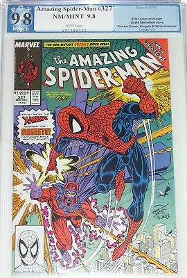 Amazing Spider-Man #327 PGX/CGC graded 9.8 from Oct 1985 Magneto appearance
