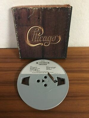 REEL to REEL TAPE ~ CHICAGO V ~  COLUMBIA CR 31102 ~ 4 TRACK STEREO TESTED 3 3/4