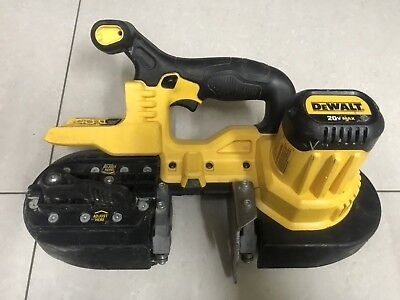 used DEWALT DCS371B 20V MAX Lithium-Ion Band Saw, Bare-Tool 1pc