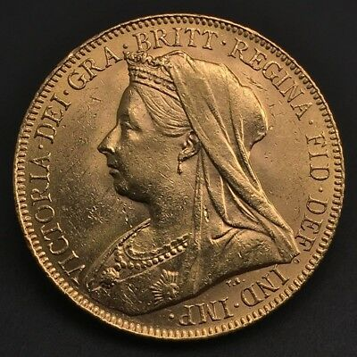 1900 Great Britain Gold Sovereign Perth Mint