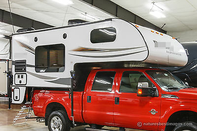 New 2018 BackPack HS-8801 Slide In Pickup Truck Camper with Toilet and Shower
