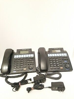 Panasonic Kx-Ts4300B Lot Of 2 !