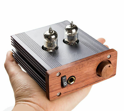Hifi Stereo Single-ended Class A Tube Headphone Amplifier Audio Pre-Amp Preamp