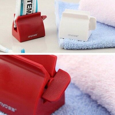 Baths Rolling Tube Toothpaste Squeezer Toothpaste Seat Holder Stand for Anya  -