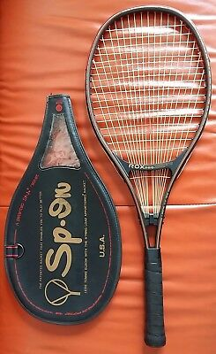 Mint Vintage rare ROX PRO SP.IN tennis racket / racquet and cover