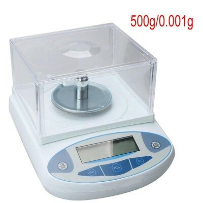 500g Lab Electronic Scale 0.001g High Precision Digital Analytical Balance 220V