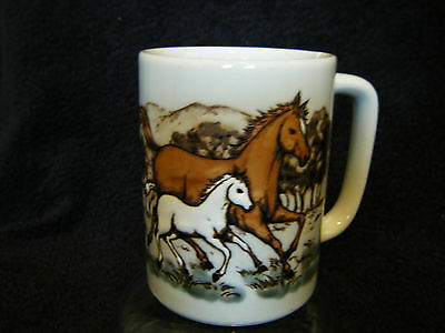 Horse Coffee Cup dimentional