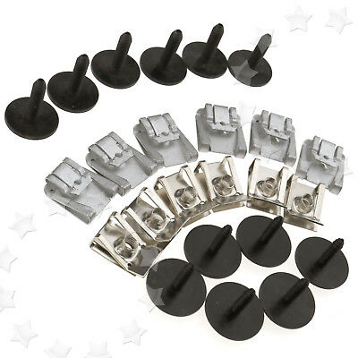 MERCEDES C Class W203 W204 Engine Undertray Clips Screws Under Cover Splashguard - £9.45 ...