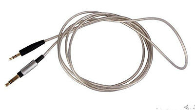 2.5mm Silver Plated Audio  Cable For B&W Bowers & Wilkins P5 P7 Headphones