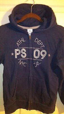 Youth Size 12Blue Hoodie  by AEROPOSTALE p.s. ATHL DEPT  Zip Up