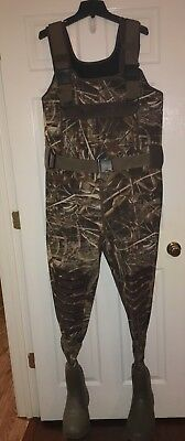 Lacrosse 1500G Waders with Real Tree Max-5 Camo Men's Size 9 Duck Hunting
