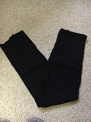 Women's Maternity Pink Blush Black Leggings Size Large