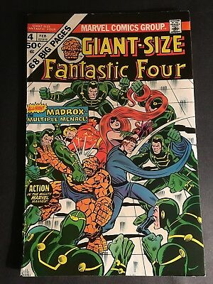 Fantastic Four Giant Size #4 1St Maddox 9.0 Vf-Nm