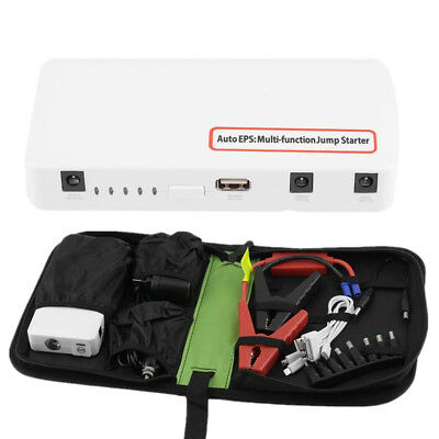Portable 15000Mah 12V Car Jump Starter Battery Charger Power Bank Emergency Kit