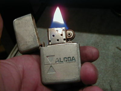 Old Made In Usa Park Lighter-Alcoa Works And Looks Good
