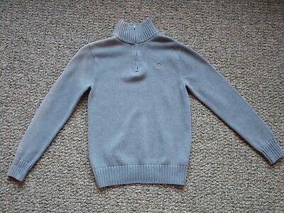 $49.50 Polo Ralph Lauren Youth Boys Knit Winter Sweater Gray Grey L 16 18 Large