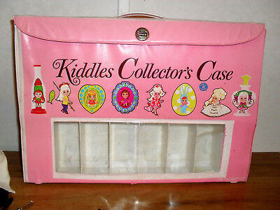 Kiddles Collectors Case for Liddle Kiddle Dolls To Display by Mattel 1967