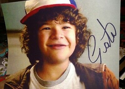 "Gaten Matarazzo Stranger Things ""Dustin"" Signed/Auto 8X10 High Caliber Smile WOW"
