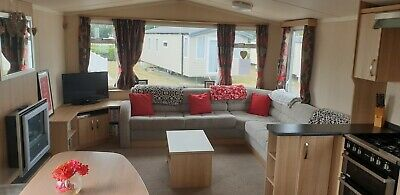 Church Farm Holiday Village Pagham Luxury caravan for hire DG and CH