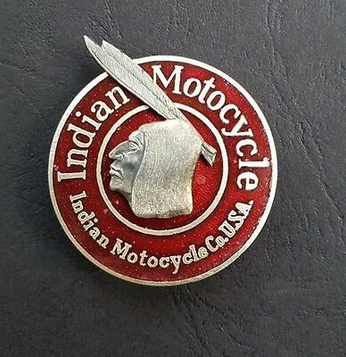 Indian Motocycle -  PIN - mit echtem Emaillie