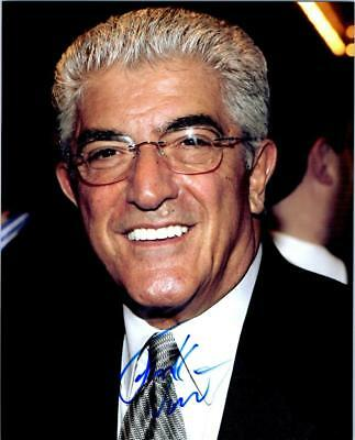 Frank Vincent signed 8x10 photo picture autographed good looking plus COA
