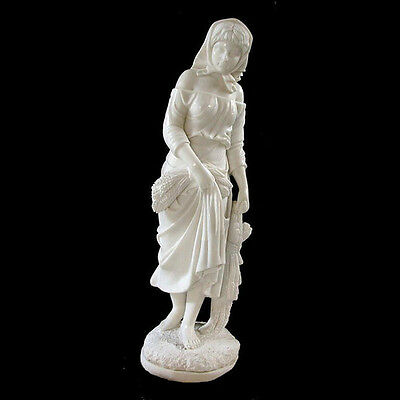 Marble Statue of Young Girl  #4521