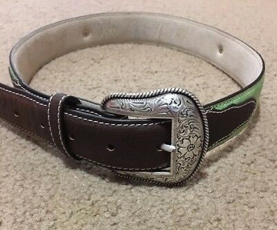 "Boy's Western Rodeo or Dress Belt 33"" Long, fits sizes 10-12"