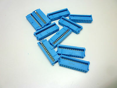1-1658526-5 TE QTY(10) IDC Connector F 26 POS 2.54mm IDT RA Cable Mount