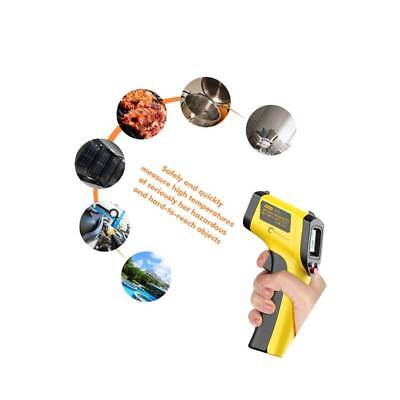 Digital Laser IR Infrared Hand Held Thermometer Temperature Scanner Testing Unit