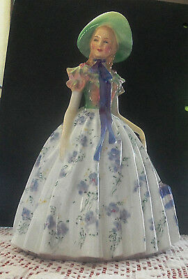 "Mint Vintage 1950s Royal Doulton Figurine Easter Day 7 1/2"" 15 oz mintartist esf"