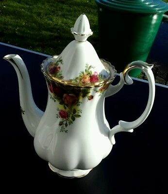 Royal Albert Old Country Roses Kaffeekanne