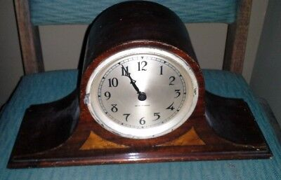 Antique SETH THOMAS Mantle Clock WITH KEY AS IS FIXER