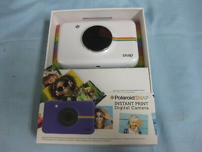 Brand New Polaroid SNAP 10MP Instant Digital Camera, White #POLSP01W