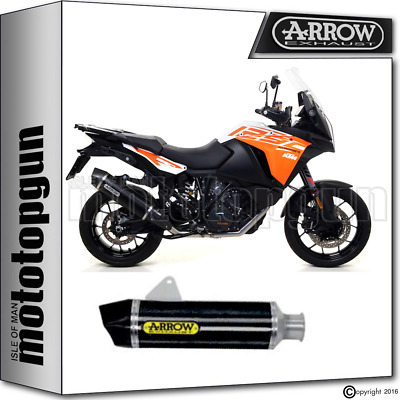 Arrow Silencer Maxi Race-Tech Black Carby Ktm 1290 Super Adventure 2017 17