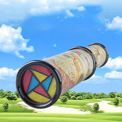 21cm Magic Kaleidoscope Prism Micro Scenery Changeable Kids Children Learning