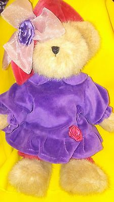 Boyds Bears Red Hat Society