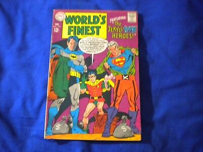DC COMICS WORLD'S FINEST #173 1968 - 1ST SILVER AGE APP OF TWO-FACE Clean