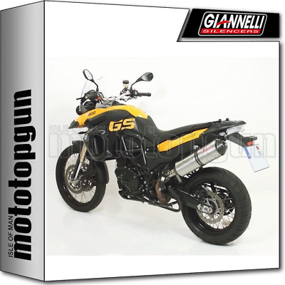 Giannelli Kit Exhaust Ipersport Titanium Carbon Cup Bmw F 800 Gs 2008 08 2009 09