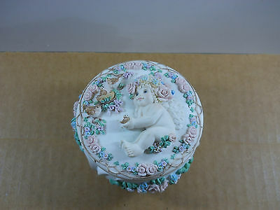 "Dreamsicles Trinket Music Box Hamilton Collection 1996 "" You've Got A Friend """