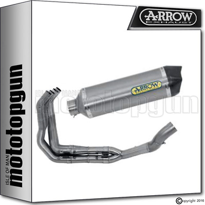 Arrow Silencer Complete Race-Tech Titanium Carby Race Kawasaki Z 1000 2017 17