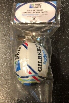 Rugby World Cup 2015 Ball Keyring. NEW. Gilbert. Official Licensed Product.