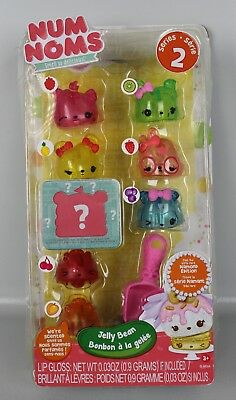 MGA Entertainment 544180E5C - Num Noms - Jelly Bean Lipgloss Set B3-MGA