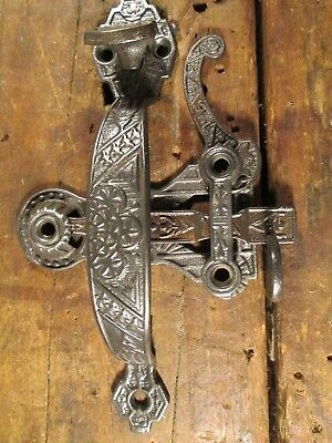 Antique  Victorian  Cottage  Door  Handle  Thumb  Latch  Set