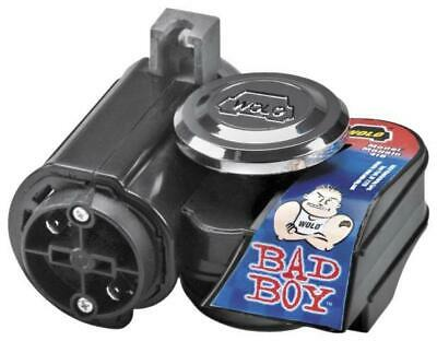 Wolo Motorcycle Bad Boy Dual Tone Air Horn Black 419