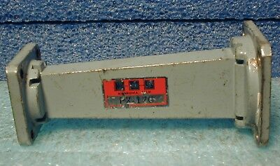 WR-90 waveguide to WR-62 tapered section