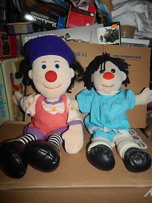 The Big Comfy Couch Loonette & Molly Plush Dolls