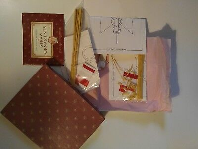 American Girl Pleasant Company KIRSTEN'S STRAW ORNAMENTS Kit Holiday Christmas