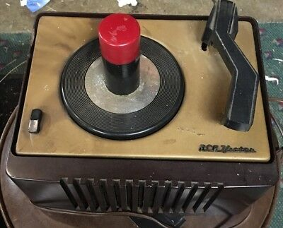 Vintage Rca Victor Model 45-Ey-2 45 Rpm Record Player Mono Tube Amplifier