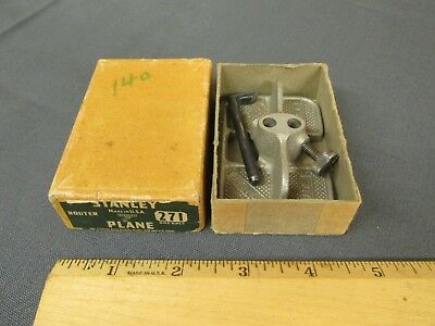 VTG STANLEY NO. 271 ROUTER PLANE IN ORIGINAL BOX -- Lot G