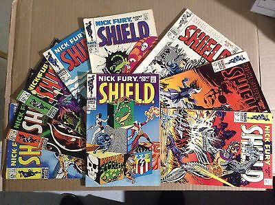 Nick Fury, Agent Of Shield 1–11 Must See High-Grade*****SALE!!!